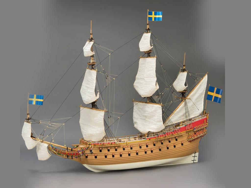 Navío de Guerra Sueco Vasa (Vista 3)