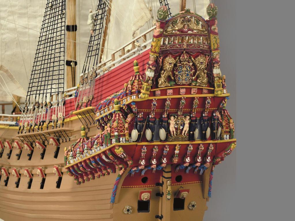 Navío de Guerra Sueco Vasa (Vista 4)