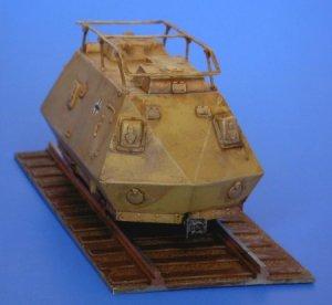 Schienenpanzer Steyer K2670  (Vista 3)