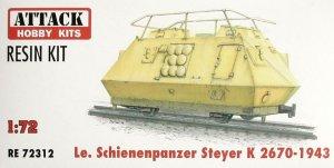 Schienenpanzer Steyer K2670 - 1943  (Vista 1)