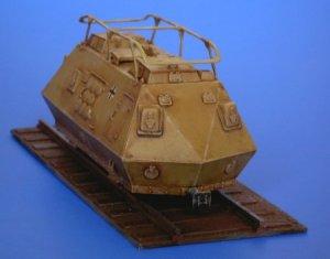 Schienenpanzer Steyer K2670 - 1943  (Vista 2)