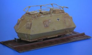 Schienenpanzer Steyer K2670 - 1943  (Vista 3)