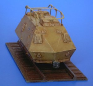 Schienenpanzer Steyer K2670 - 1943  (Vista 4)