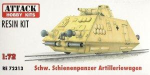 Schienenpanzer artillery wagon  (Vista 1)