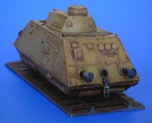 Schienenpanzer artillery wagon  (Vista 2)