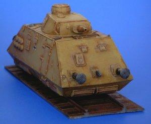 Schienenpanzer artillery wagon  (Vista 3)