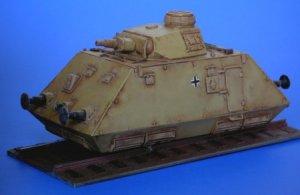 Schienenpanzer artillery wagon  (Vista 4)