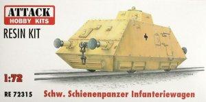 Schienenpanzer infantry wagon  (Vista 1)