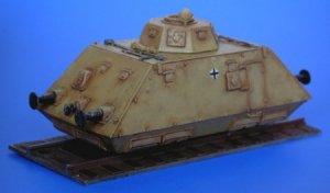 Schienenpanzer infantry wagon  (Vista 3)