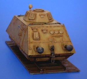 Schienenpanzer infantry wagon  (Vista 4)