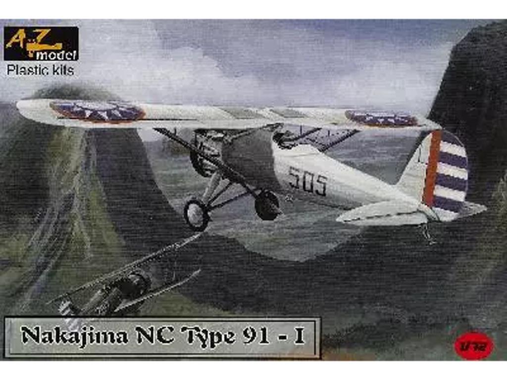 Nakajima NC Type 91-I Chine (Vista 1)