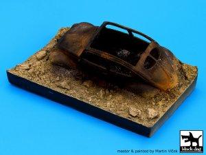 Destroyed german car Afrika base  (Vista 3)