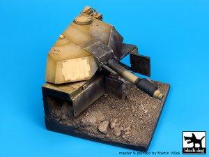 Destroyed M1A1 Abrams base  (Vista 2)