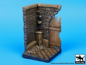 Esquina con puerta de Madera  (Vista 1)