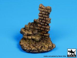 Escaleras de piedra con base de columna   (Vista 3)
