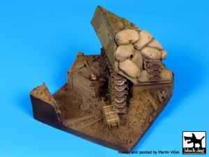 Sherman destruido y trinchera  (Vista 1)