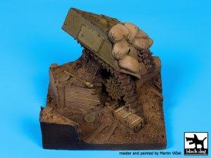 Sherman destruido y trinchera  (Vista 4)