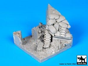 Sherman destruido y trinchera  (Vista 5)