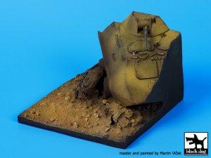 Base BTR 60 destruido  (Vista 3)