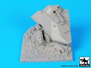 Base BTR 60 destruido  (Vista 5)
