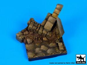 Pared en ruinas N ° 3 de base  (Vista 1)