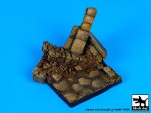 Pared en ruinas N ° 3 de base  (Vista 2)