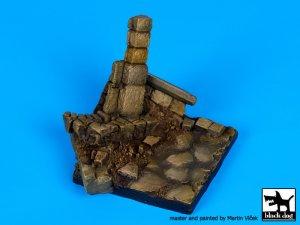 Pared en ruinas N ° 3 de base  (Vista 3)