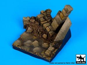 Pared en ruinas N ° 3 de base  (Vista 4)