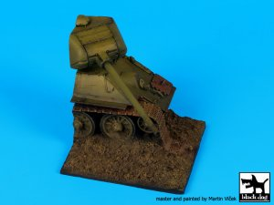 Base T-34 destruido  (Vista 1)