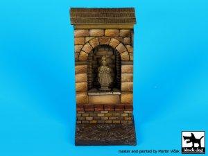 Muro con nicho de santo   (Vista 1)