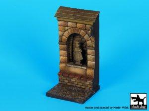 Muro con nicho de santo   (Vista 3)