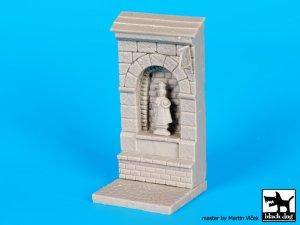 Muro con nicho de santo   (Vista 5)