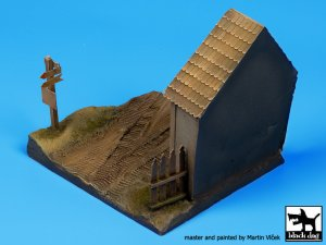 Russian village house base  (Vista 4)