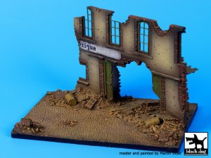 Street with house ruin base  (Vista 2)