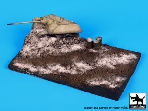 Destroyed Jagdpanzer base  (Vista 1)