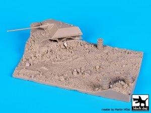 Destroyed Jagdpanzer base  (Vista 5)