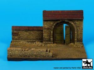 Pared con la puerta N ° 2 de base   (Vista 3)