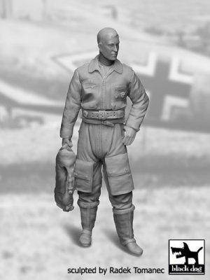 German Luftwaffe Pilot 1940-1945 N°1  (Vista 1)