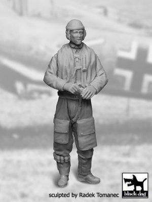 German Luftwaffe Pilot 1940-1945 N°2  (Vista 1)