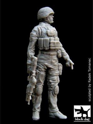 US soldier in Iraq N°2  (Vista 1)