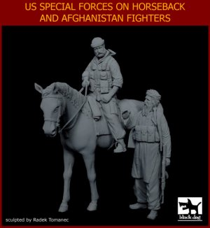 US Special forces on horse+Afghanistan f  (Vista 2)