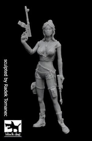 Post apocalyptic woman N°2  (Vista 1)