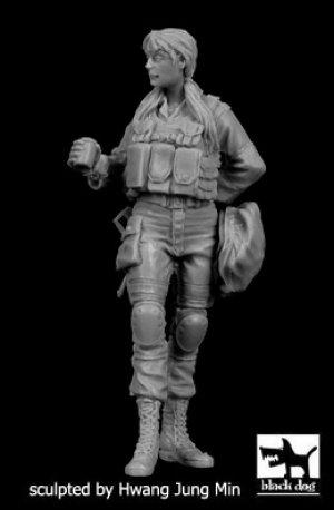 Mujer Soldado Israeli  N°3  (Vista 1)