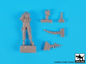 Australian modern soldier N°2  (Vista 2)