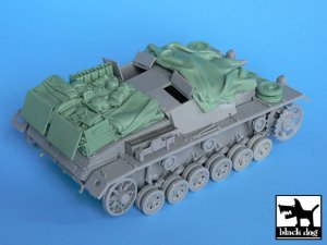 Stug III C\D accessories set  (Vista 3)