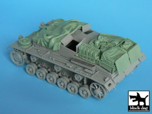 Stug III C\D accessories set  (Vista 4)