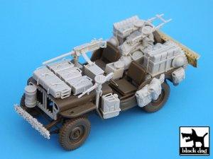 British SAS Jeep north Africa 1942  (Vista 2)
