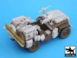British SAS Jeep north Africa 1942  (Vista 3)