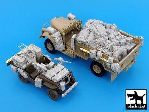British SAS Jeep & Chevrolet north Afric  (Vista 1)