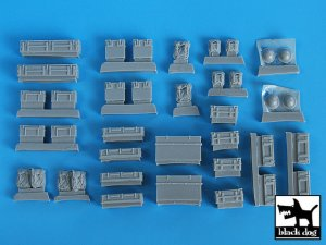 British equipment accessories set  (Vista 2)